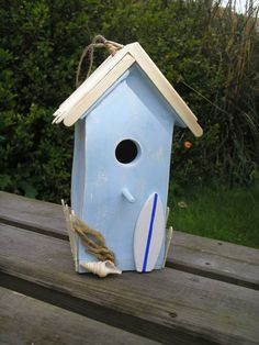 birdhouse/beach house.