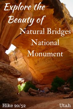 Hike Natural Bridges