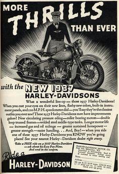 Vintage Harley Ads 18