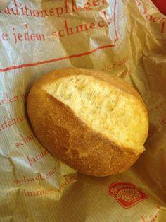 German food - brotchen... pass the Honig, bitte!