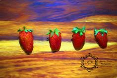 Artistic Strawberries all in a row Digital Fine Art Photography, Instant Digital Download, Wall Art Print, ModernCanvas or Print by DelightGallery on Etsy