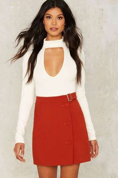 Belt With You Mini Skirt | Shop Clothes at Nasty Gal!