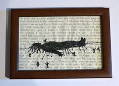 Classic Literature  Gulliver's Travels by loadofolbobbins on Etsy, £45.00