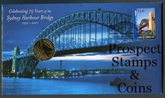 Royal Australian Mint :: 2007 Coin Releases :: 2007 Sydney Harbour Bridge Stamp and Coin Cover PNC