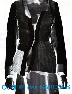 Comme des Garçons Campaign, Fall/Winter 1997 tag: Rei Kawakubo