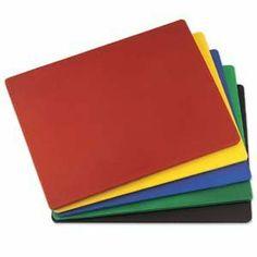 """15""""x20""""x1/2"""" High Density Polyethylene Blue Cutting Board by UPDATE INTERNATIONAL. $21.45"""