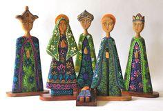 Conoce estas preciosas artesanias nicaraguenses de Navidad en http://navidad.es/5093/nacimientos-artesanales-de-nicaragua/ #CompartiLaMagia