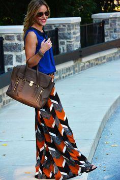 cobalt / orange / black / white / grey