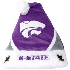 Kansas State Wildcats Colorblock Santa Hat - $19.99
