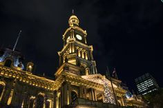 Christmas in coming to Sydney. Captured with Canon EOS 760D on 2016/11/24