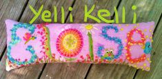 Freehand+Embroidered+Bohemian+Letters+Name+Pillow+by+YelliKelli,+$55.00