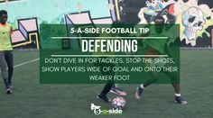 All the best football tips and tactics to help you win next time you play. How to become a five a side football hero using smart strategy in 11 steps. Defensive Soccer Drills, Smart Strategy, Football Soccer, Goals, Tips, Exercises, Counseling