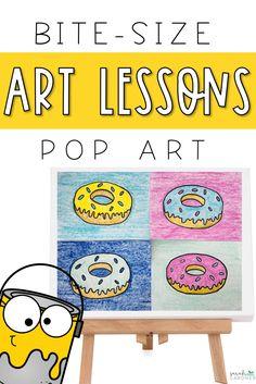 Classroom Art Projects, School Art Projects, Art Classroom, Art Education Projects, Art Education Lessons, Art Lessons For Kids, Art Lessons Elementary, Art For Kids, Pop Art