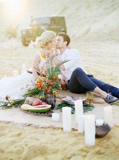 Elopement inspiration | Max Koliberdin Photography | see more on: http://burnettsboards.com/2014/07/exotic-safari-elopement/