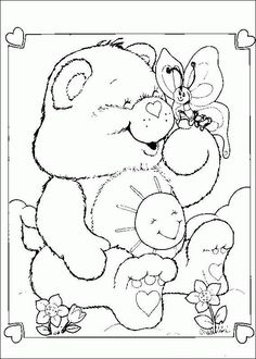 61 The Care Bears Printable Coloring Pages For Kids Find On Book Thousands Of