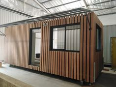 Constructed from two conjoined B-grade shipping containers, this spacious maintenance office doubles as a storage room and includes an ablution facility with a toilet and sink. Container Conversion by Topshell Containers, South Africa for #Bethlehem Farm. Shipping Container Conversions, Shipping Container Office, Shipping Containers, Mobile Office, Bethlehem, Container Homes, Storage Room, Storage Containers, South Africa