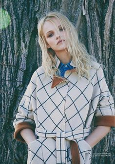 Ginta Lapina by Chris Craymer for Glass Magazine Spring 2014 - Louis Vuitton