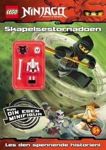 LEGO® Ninjago - Skapelsestornadoen (Heftet)
