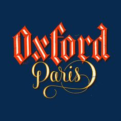 Simple and yet the choice of fonts used represents the city, i.e - oxford a traditional english 'posh' but yet an old country and Paris a romantic city. Nice colours are used in this design.