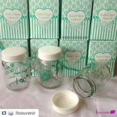 #Repost @ifsouvenir with @repostapp  200 pcs Tiny Jar Pesanan... #wedding #weddings