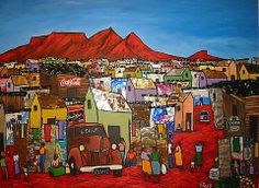Shop Frank Ross on Fine Art Portfolio Contemporary Art Daily, Modern Art, Emphasis In Art, South Africa Art, Sa Tourism, African Colors, African Paintings, South African Artists, African Textiles