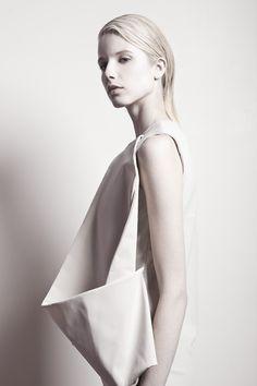 special style in pure white  Fashion + Photography  Design: Martinez Lierah   Photo: Rainer Torrado  