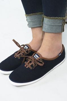 ff63c9ccedb7f Warm up your step in these stylish heathered wool Keds. They have saddle  brown accents
