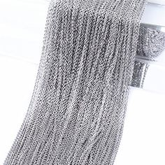 Super Lover 10m Stainless Steel Cable Chain Link in Bulk for Necklace Jewelry Accessories DIY Making 1.5mm Qitian  $11.99