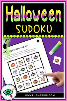 Free Halloween Characters Sudoku games specially for kids. These Sudokus were designed for beginners puzzle solvers. Playing Sudoku kids can practice math and logical skills and also improves memory. Logic Games For Kids, Games To Play With Kids, Puzzle Games For Kids, Free Games For Kids, Educational Games For Kids, Games For Toddlers, Math Games, Letter Activities, Teaching Activities