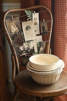 Great way to display old photos  http://bit.ly/HwXvPh