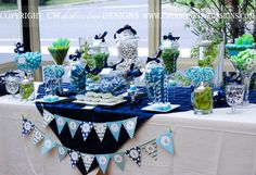 Christening Dessert Table c
