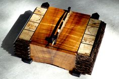 Exotic Wood Boxes Jewelry, Watch, Eyeglass, Keys and Remote Control Storage Boxes . I had no intention of ever building boxes until realizing not only is it fundamental to all woodworking but is also. Live Edge Furniture, Decorative Storage Boxes, Woodworking Box, Wooden Jewelry Boxes, Wooden Art, Small Boxes, Wood Boxes, Keepsake Boxes, Wood Projects