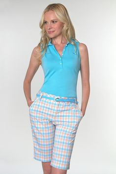 Monterey Club Ladies and Plus Size Golf Outfits (Shirt & Skort ...