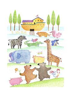 Road to Noah's Ark Art Print at Art.com