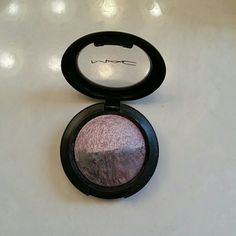 MAC Joy and Laughter eye shadow A stunning mix of purples! This is one of my favorite eye shadows! Has been used a handful of times, but still almost full! The shimmer these colors give off is amazing!! Box not included. 100% Authentic MAC Cosmetics Makeup Eyeshadow