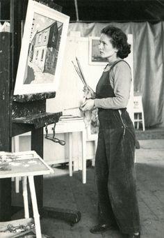 Wilhelmina Barns-Graham Porthmeor Studios 1947