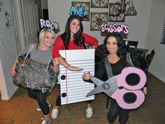 Halloween Costume - Rock, paper, scissors!