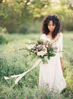 Romantic Spring Bridal Portraits