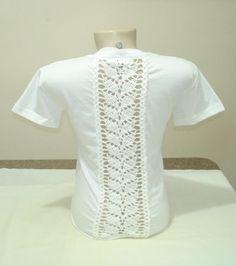 Crochet Yoke, Crochet Blouse, Sewing Clothes, Diy Clothes, Diy Lace Trim, Pullover Upcycling, Beautiful Pakistani Dresses, Black Crochet Dress, Diy Shirt