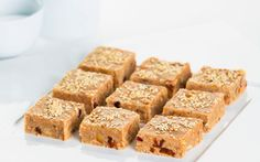 The Boat Shed Café's ginger nut slice