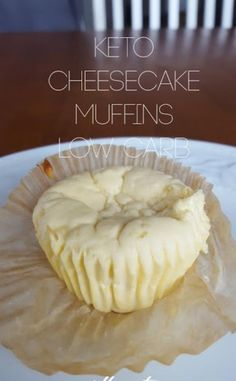 I made these Keto Cheesecake Muffins for the first time today. First dessert i have made on keto diet that[] I made these Keto Cheesecake Muffins for the first time today. First dessert i have made on keto diet that[] Low Carb Sweets, Low Carb Desserts, Low Carb Recipes, Dessert Recipes, Dessert Blog, Snacks Recipes, Milk Recipes, Bread Recipes, Cookie Recipes