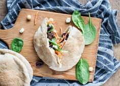 Recipe: Mediterranean Veggie Pita Sandwich — Lunch Recipes from The Kitchn