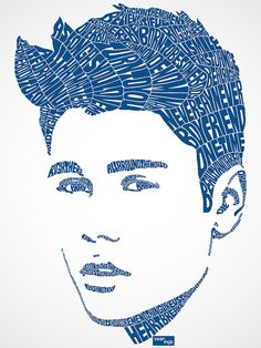 Justin Bieber Typographic Design Buy This Shirt!