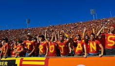 #USC #football season is about to begin. We are minutes from the stadium!