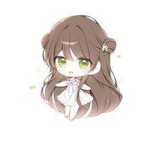 Anime Girl Pink, Anime Blue Hair, Anime Girls, Pretty Anime Girl, Anime Child, Kawaii Anime Girl, Cute Anime Chibi, Cute Anime Pics, Kawaii Chibi
