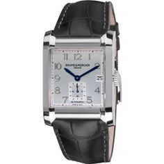 Baume & Mercier Men's 10026 Silver Dial Black Strap Automatic Watch Baume & Mercier, http://www.amazon.com/dp/B006H4J31U/ref=cm_sw_r_pi_dp_TCubrb0WSZ2Q2