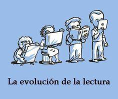 evolución de la lectura