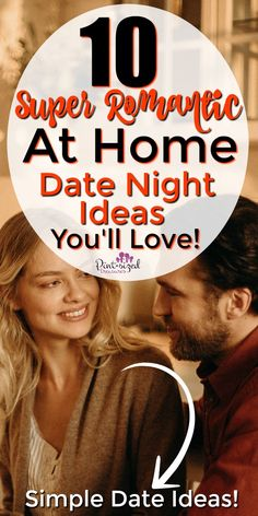 You don't have to spend a fortune or paint the town red to reconnect with your husband. You can build your marriage and have an amazing date night at home, and do it frugally! These 10 at home date night ideas are super romantic, easy to plan, and allow you to have date night more often. #datenight #marriage #dateideas #cheapdateideas #romanticdates