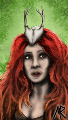 Scathach by Marenschke on DeviantArt Halloween Face Makeup, Deviantart