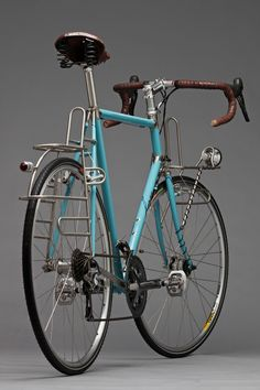 Some tourer love. Horse Cycles Stainless Tourer (vía Cycleexif) Nicely done! Velo Retro, Velo Vintage, Vintage Bicycles, Retro Bike, Bmx, Bike Mtb, Recumbent Bicycle, Velo Design, Bicycle Design
